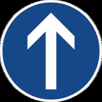 """Vorgeschriebene Fahrtrichtung """"geradeaus"""" ist nur für den Autoverkehr sinnvoll und hemmt die Fahrradnetzdurchlässigkeit"""