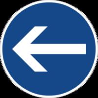 """Vorgeschriebene Fahrtrichtung """"hier links"""" ist nur für den Autoverkehr sinnvoll und hemmt die Fahrradnetzdurchlässigkeit"""