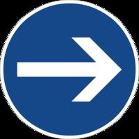 """Vorgeschriebene Fahrtrichtung """"hier rechts"""" ist nur für den Autoverkehr sinnvoll und hemmt die Fahrradnetzdurchlässigkeit"""