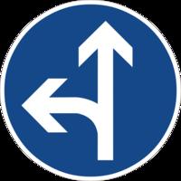 """Vorgeschriebene Fahrtrichtung """"geradeaus oder links"""" ist nur für den Autoverkehr sinnvoll und hemmt die Fahrradnetzdurchlässigkeit"""
