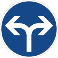 """Vorgeschriebene Fahrtrichtung """"links oder rechts"""" ist nur für den Autoverkehr sinnvoll und hemmt die Fahrradnetzdurchlässigkeit"""