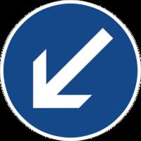 """Vorgeschriebene Fahrtrichtung """"rechts vorbei"""" ist nur für den Autoverkehr sinnvoll und hemmt die Fahrradnetzdurchlässigkeit"""