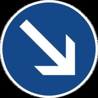 """Vorgeschriebene Fahrtrichtung """"links vorbei"""" ist nur für den Autoverkehr sinnvoll und hemmt die Fahrradnetzdurchlässigkeit"""