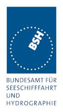 Logo des Bundesamts für Seeschifffahrt und Hydrographie